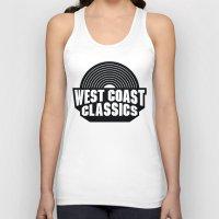west coast Tank Tops featuring West Coast Classics by Popp Art