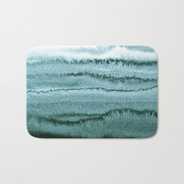 WITHIN THE TIDES - OCEAN TEAL Bath Mat
