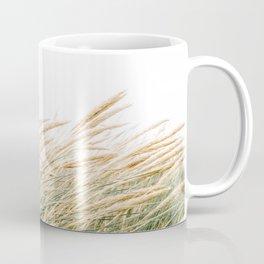Dune grass | Fine art coastal beach photography | Pastel soft tones in the Netherlands Coffee Mug