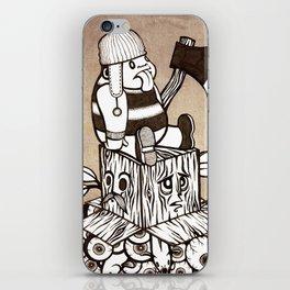 Lumberjack iPhone Skin