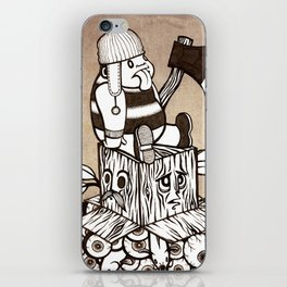 Lumberjack iPhone Skin