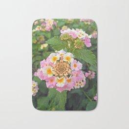 Lantana camara flower garden Bath Mat