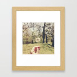 When You Wish Framed Art Print