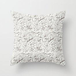 Apocalyptic Weapons  Throw Pillow