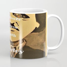Poe, I am aboslutely, positively in love with Poetry Coffee Mug