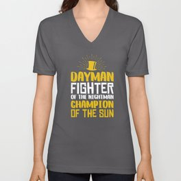Dayman! Unisex V-Neck