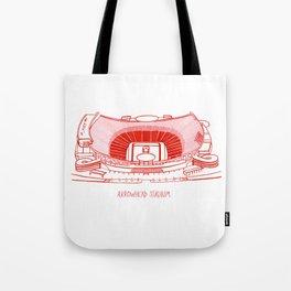 Arrowhead Stadium Tote Bag