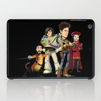bastille iPad Cases featuring OPC Bastille Technicolor (black) by Other People's Characters