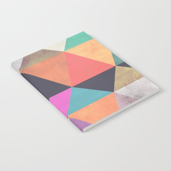 colour + pattern 12 Notebook
