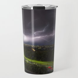 Summer Storm Over Brisbane Travel Mug