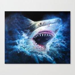 Shark Attack Canvas Print