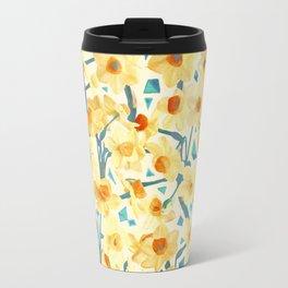 Yellow Jonquils Travel Mug