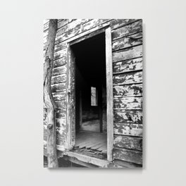 Abandoned Schoolhouse Metal Print