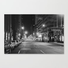 Madison Ave. 12:30am Canvas Print