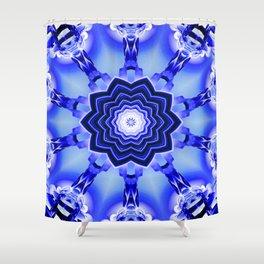 Abstract 2 Mandala Shower Curtain