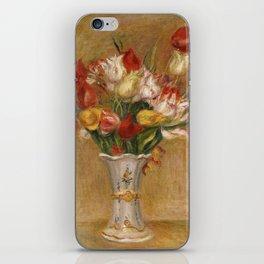 "Auguste Renoir ""Tulipes (Tulips)"" iPhone Skin"