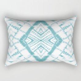 Dye Diamond Sea Salt Rectangular Pillow