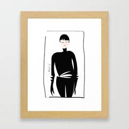 Style Spy Framed Art Print