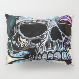 Evil Skull Ring with Lemmy Statue Pillow Sham