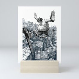 Furry Fingers Mini Art Print