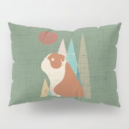 Waiting for you English Bulldog Pillow Sham
