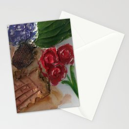 Gesso Scan Stationery Cards