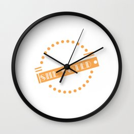 "Looking for a nice gift this seasons of giving? Here's a nice tee for you! ""Nevertheless She Voted"" Wall Clock"