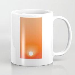 Red hot AM sun Coffee Mug
