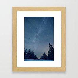 Sleeping Lake Framed Art Print