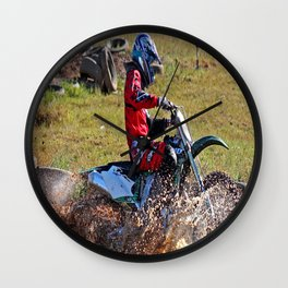 Moto Cross Wall Clock