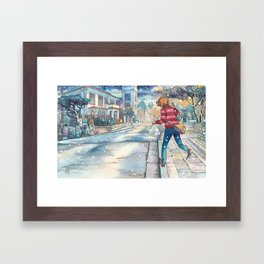 Cold In Yokohama #07 Framed Art Print
