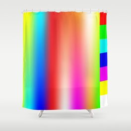 Vapor Spectrum Shower Curtain