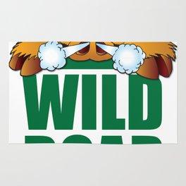 Wild Boar from Arkansas! Rug