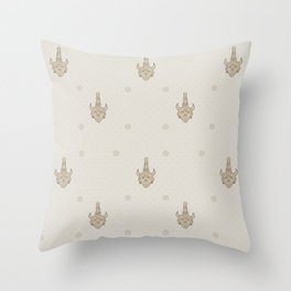 samulet pattern Throw Pillow