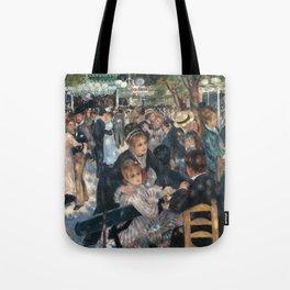 Bal du moulin de la Galette, Auguste Renoir, 1876 Tote Bag