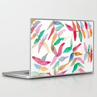 sweater Laptop & iPad Skins featuring Sweater Weather by The East Auklet