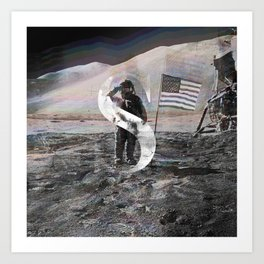S is for Space. Art Print