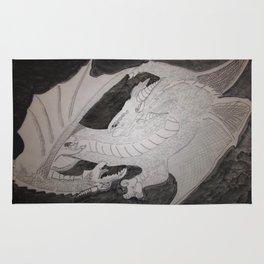 Storm Kings (Dragon thunder and lightning) Rug