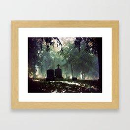 Cemetary 3 Framed Art Print