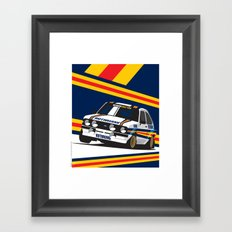 Ford Escort RS2000 Framed Art Print
