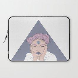 FEARLESS GIRL Laptop Sleeve