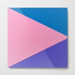 Triangles (Miami) Metal Print
