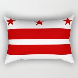 Flag of Washington D.C. Rectangular Pillow