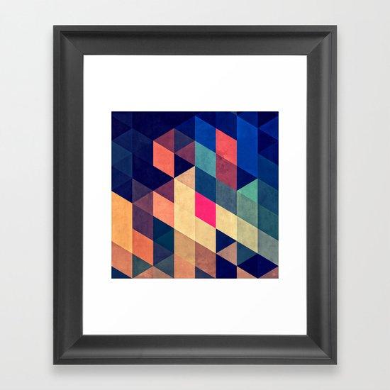 wyy Framed Art Print