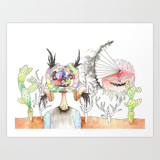 Desert Vision Art Print