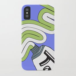 Toothpaste iPhone Case