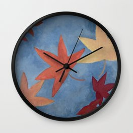 Sweet Gum Wall Clock