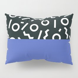 Memphis pattern 49 Pillow Sham