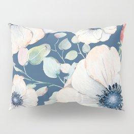 Summer Flowers Blue #society6 #buyart Pillow Sham