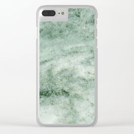 Greek Marble Clear iPhone Case